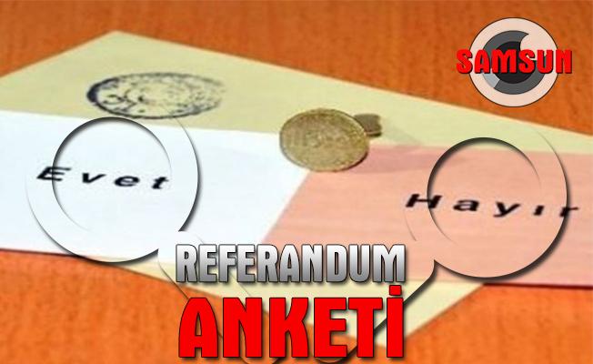 """Orta Karadeniz'den """"referandum"""" yorumu"""