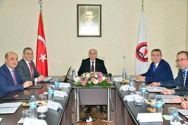 OSB toplantısı Vali Şahin'in başkanlığında yapıldı
