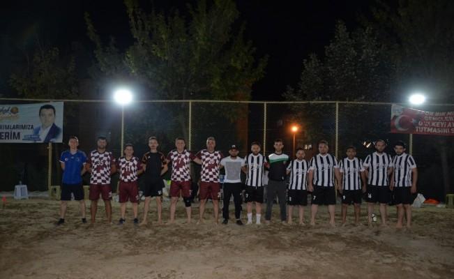 Plaj Futbolu Turnuvaları Başladı