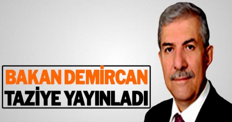Sağlık Bakanı Ahmet Demircan taziye mesajı yayınladı