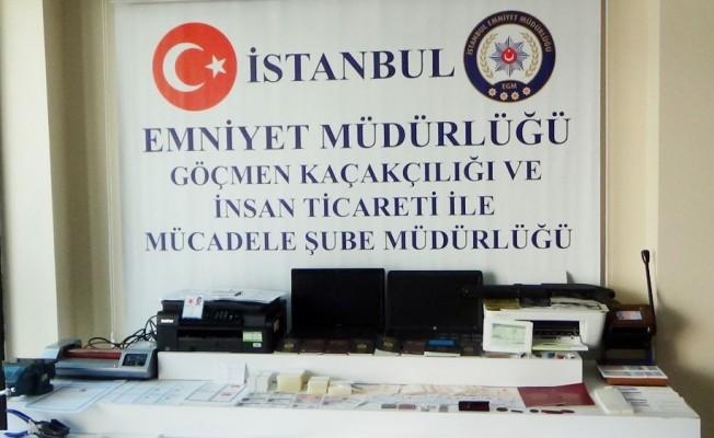 Sahte Pasaport Şebekesine Operasyon