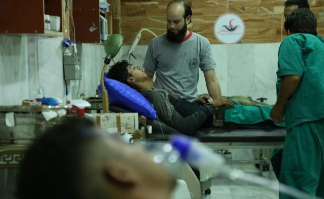"""Şam`da muhaliflere """"zehirli gaz"""" saldırısı iddiası"""