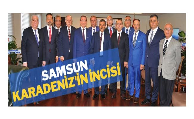 Samsun, Karadeniz`in incisi
