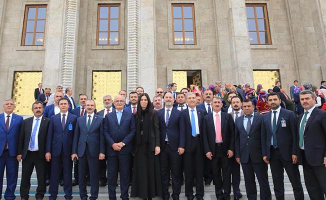 Samsun AK Parti İlçe Başkanları Mecliste!