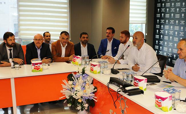 Samsun AK Parti İstişare Toplantısı Gerçekleştirdi!
