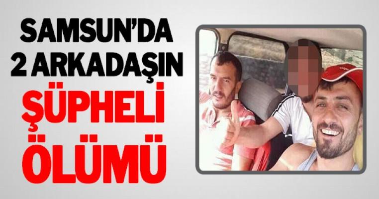 Samsun`da 2 kişinin araç içinde şüpheli ölümü