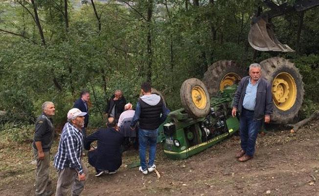 Samsun`da Bir Kişi Traktörün Altında Can Verdi!