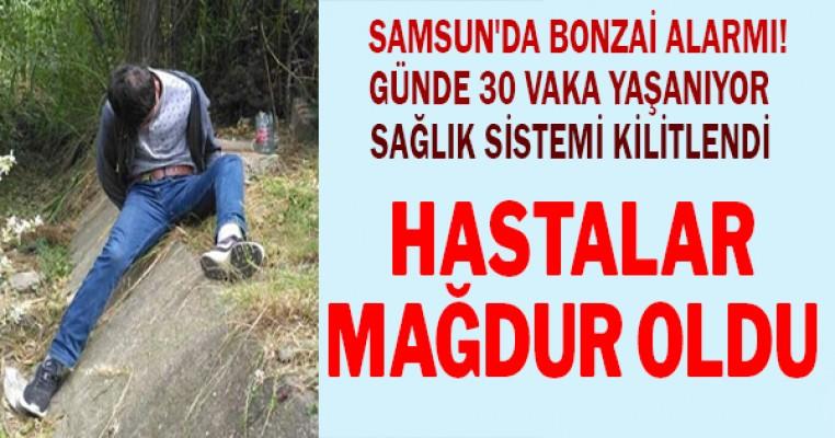 Samsun`da bonzai alarmı! 112 yetişemiyor