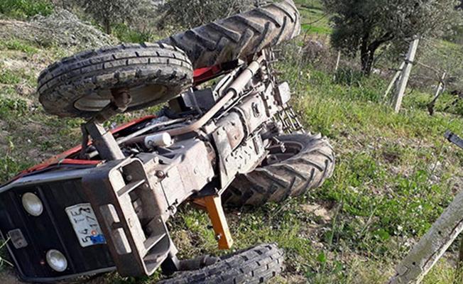 Samsun`da Devrilen Traktörün Altında Kalan Bir Kişi Hayatını Kaybetti!