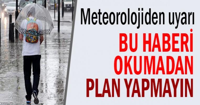 Samsun`da hava dönüyor, bu haberi okumadan plan yapmayın