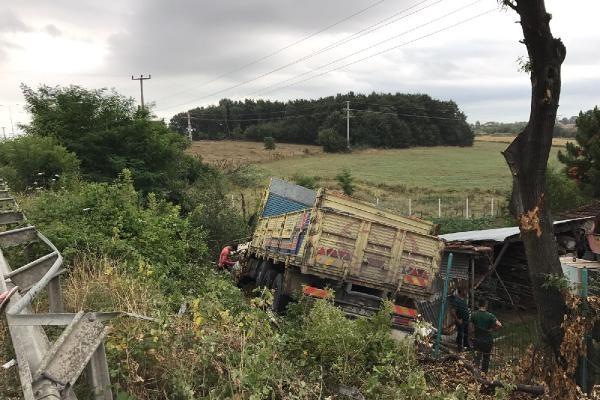Samsun`da kaza: 1 yaralı