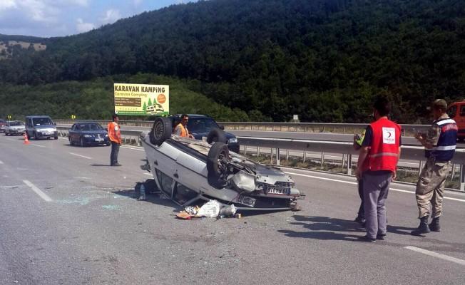 Samsun`da kaza 3 yaralı