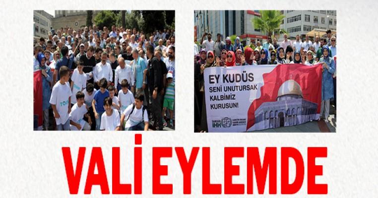 Samsun`da Mescid-i Aksa'nın kapatılmasına tepki