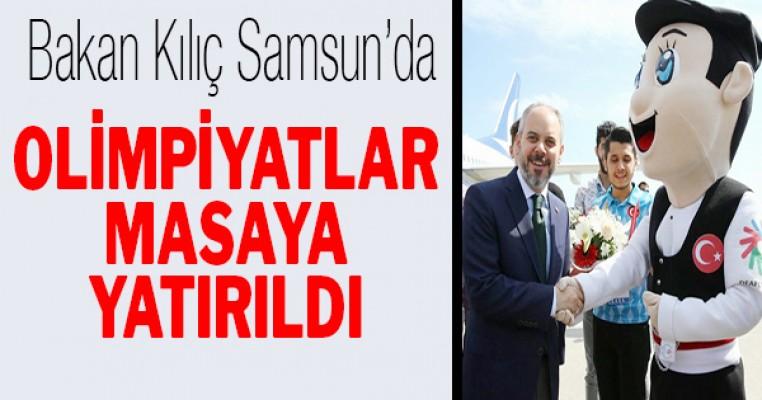 Samsun`da olimpiyatlar masaya yatırıldı