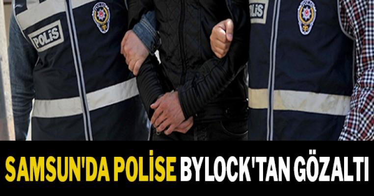 Samsun`da polise ByLock`tan gözaltı