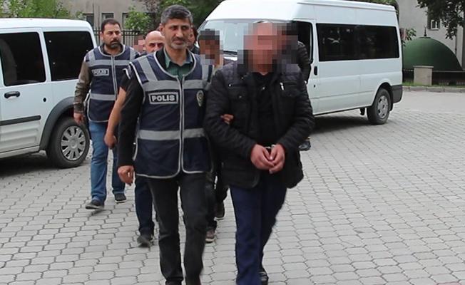 Samsun`da Polisten Şafak Baskını