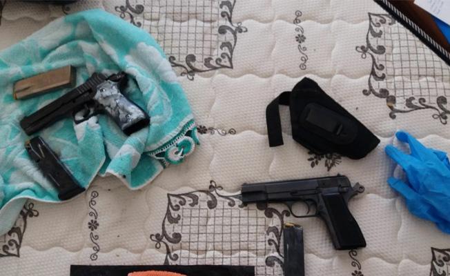 Samsun`da Silah Kaçakçılık Operasyonu