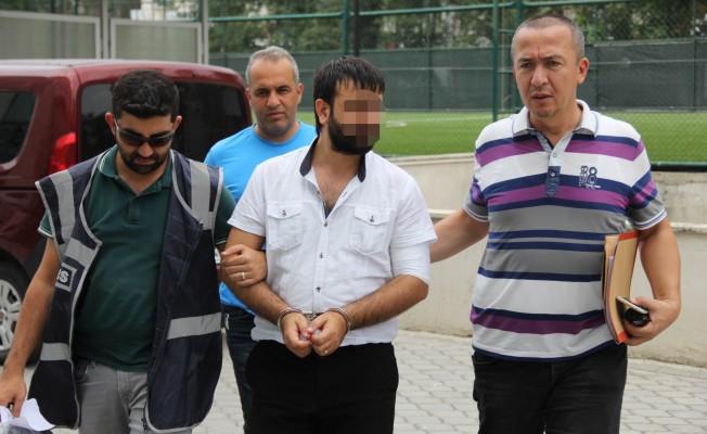 Samsun`da Silahla Saldırı Şüphelisi Adliyede