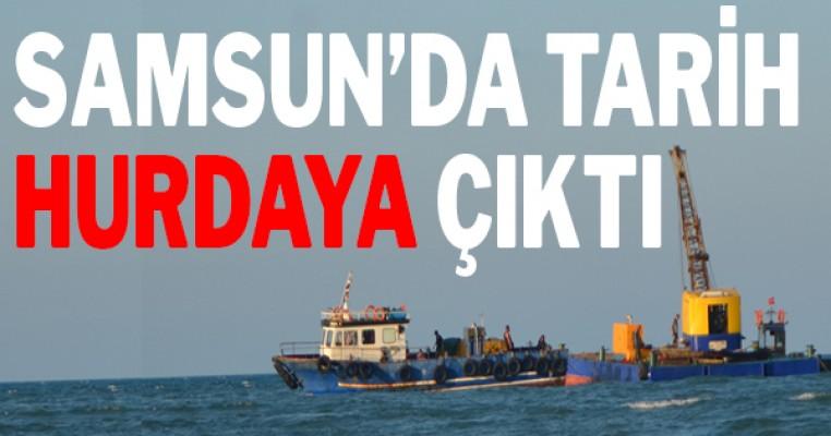Samsun`da tarih can çekişiyor: `Tirimüjgan Batığı` hurdaya gidiyor