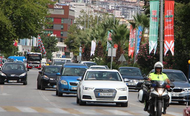Samsun`da Trafiğe Kayıtlı Araç Sayısı Açıklandı!