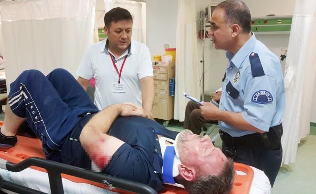 Samsun`da trafik kazası: 3 yaralı