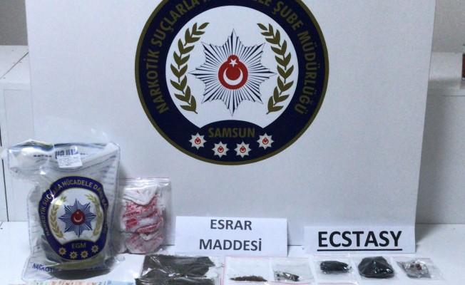 Samsun`da Uyuşturucu Tacirleri Serbest!
