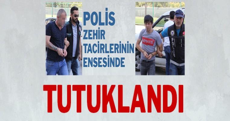 Samsun polisi uyuşturucuya göz açtırmıyor: Tutuklandı