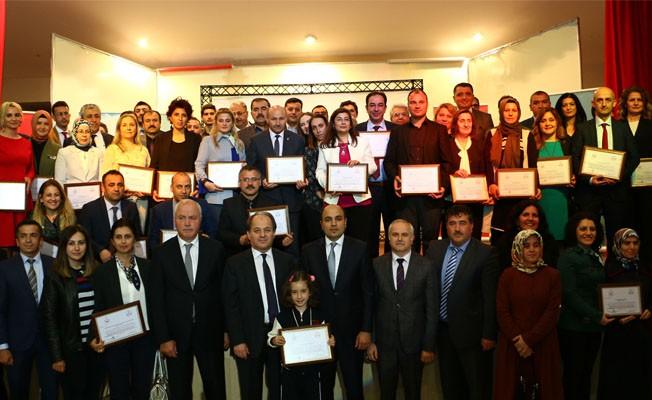 """Samsun'da 76 Okula """"Beslenme Dostu Okul"""" Sertifikası"""