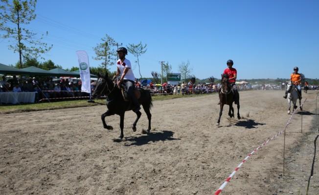 Samsun`da Rahvan At Yarışları