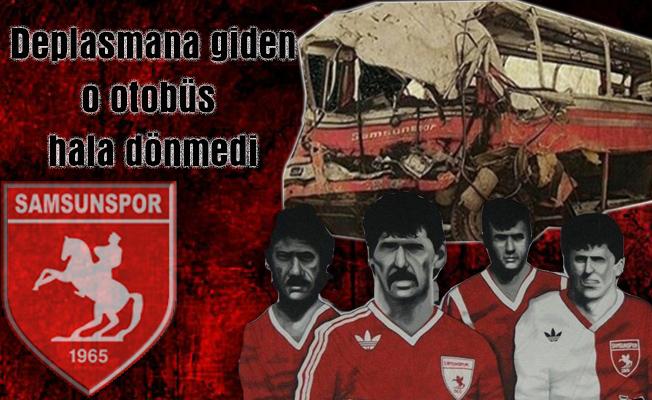 Samsunspor, 1989'daki kazada ölen teknik adam ve futbolcularını andı