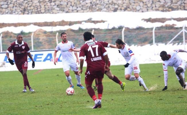 Samsunspor Bandırma deplasmanında kaybetti.