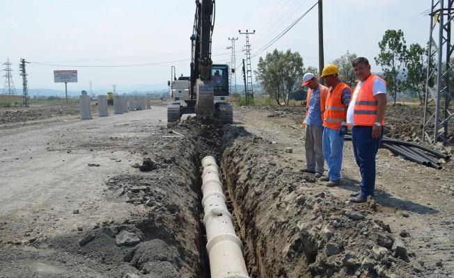SASKİ, Tekkeköy`deki Alt Yapı Çalışmalarını Tamamlıyor!