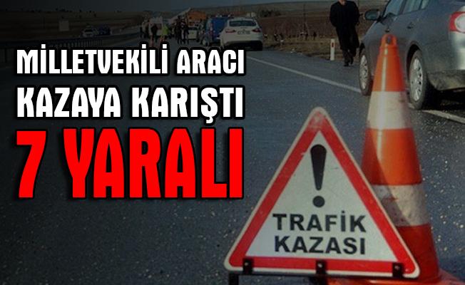 Sinop'ta trafik kazası: 7 yaralı