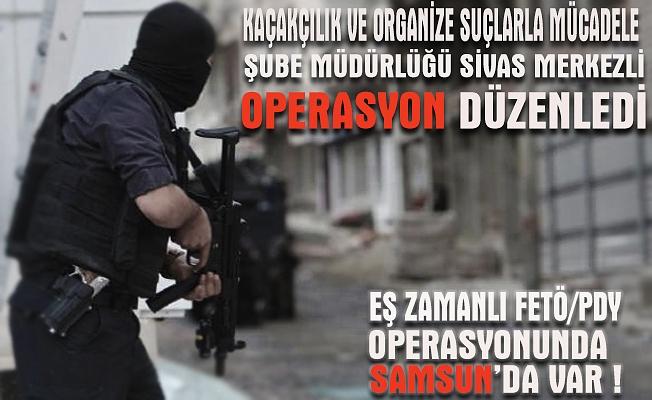 Sivas merkezli 16 ildeki FETÖ operasyonunda gözaltı sayısı 34'e yükseldi