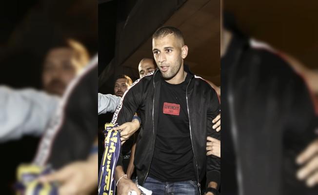 Slimani, Fenerbahçe için İstanbul`a geldi