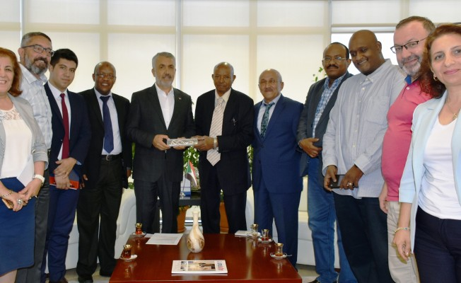 Sudan heyeti OMÜ`de