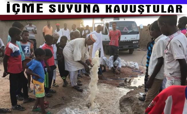 Sudanlılar içme suyuna kavuştu