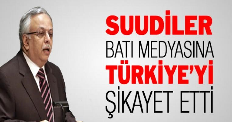 Suudi Arabistan`dan Türkiye`ye garip suçlama