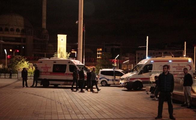 Taksim Meydanda bir kişi ölü bulundu