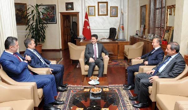 TEDAŞ Genel Müdürü Leventoğlu'dan Büyükşehir Belediyesi'ne ziyaret
