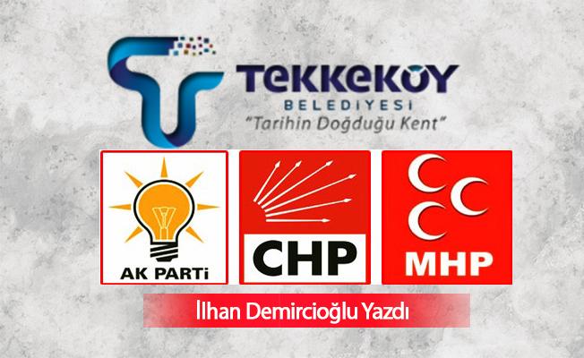 Tekkeköy'de Aday Az Yarış Çetin