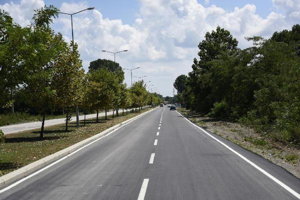 Tekkeköy'de asfalt çalışmaları