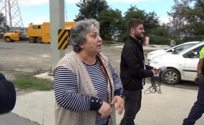 Trafik uygulamasında drone gören teyzeden güldüren tepki: