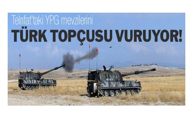 Türk topçusu vuruyor!
