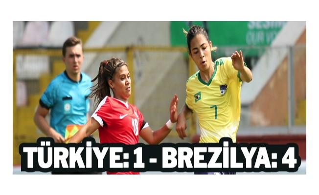 Türkiye: 1 - Brezilya: 4