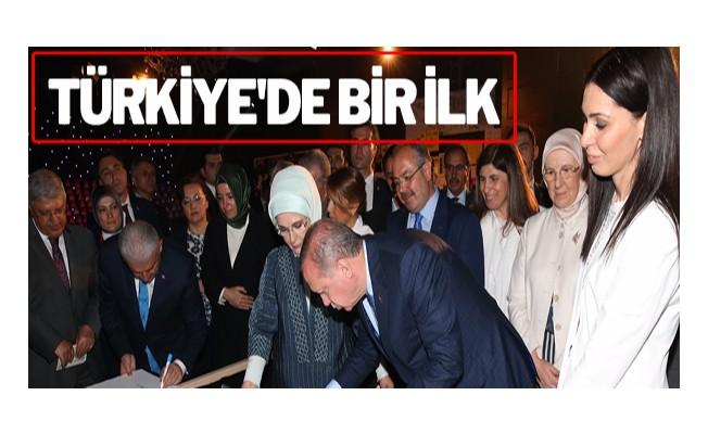 Türkiye`de bir ilk