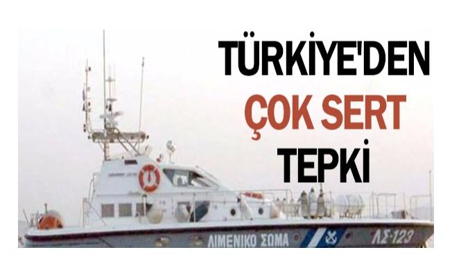 Türkiye`den Çok Sert Tepki