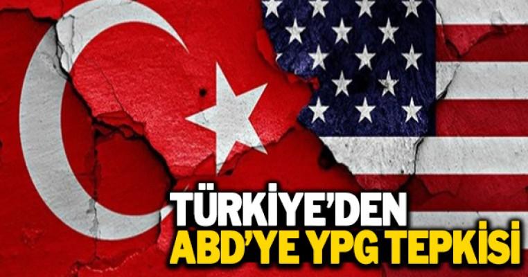 Türkiye`den ABD`ye PYD/YPG tepkisi