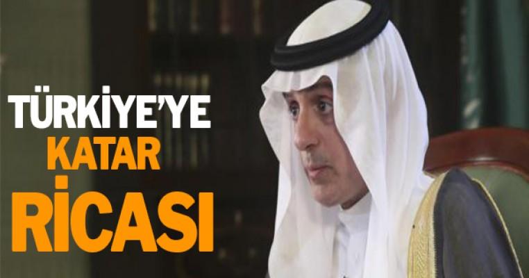 Türkiye`ye Katar ricası