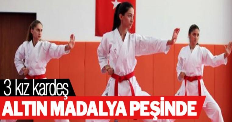 Üç kız kardeş, olimpiyatta altın madalya için ter dökecek